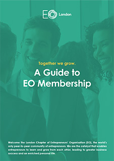 A Guide to EO Membership eBook Cover